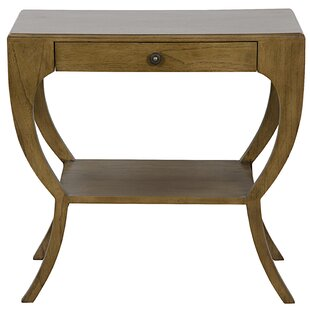 Maude End Table with Storage