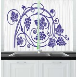 Wine Themed Kitchen Curtains | Wayfair