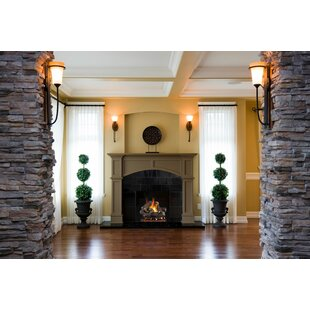Oak Natural Gas/Propane Logs By Real Fyre