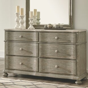 Ophelia & Co. Beachwood 6 Drawer Double Dres..