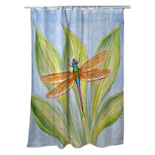 Ronald Dragonfly Single Shower Curtain