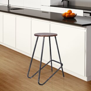 Sweetwater Backless Metal 26.96 Bar Stool - set of 4 (Set of 4) by Foundry Select