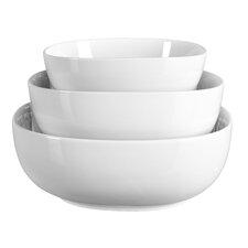 Lyman 3 Piece Porcelain Serving Bowl Set