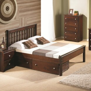 Read Reviews Hopkins Full/Double Storage Platform Bed By Harriet Bee