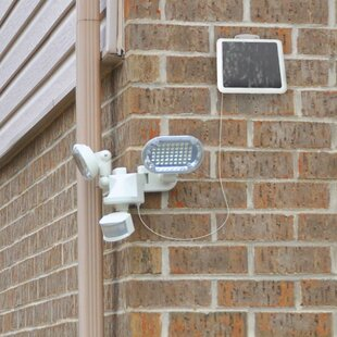 Solar Power Outdoor Security Flood Light with Motion Sensor