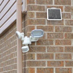 Solar Power Outdoor Security Flood Light with Motion Sensor