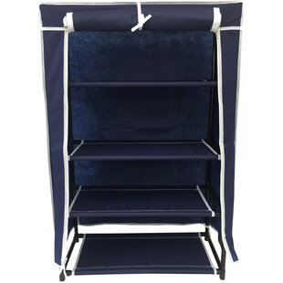 Reviews 4-Tier 12 Pair Shoe Rack By Wee's Beyond