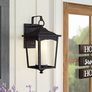 Mason 1-Light Metal Outdoor Wall Lantern
