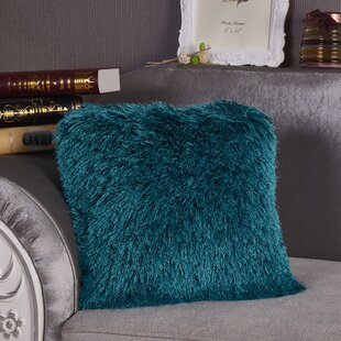 Halesowen Decorative Shaggy Throw Pillow