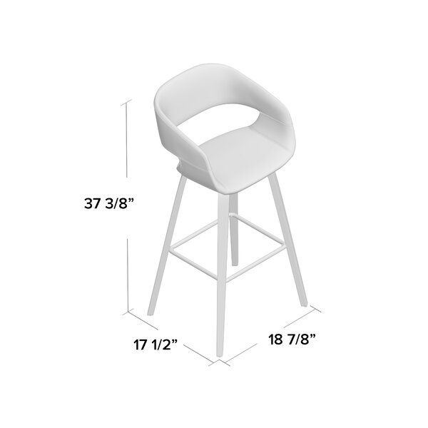 Corrigan Studio Cawthon 26 Counter Stool Reviews Wayfair