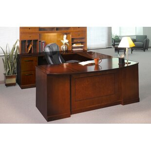 Sorrento Series 4-Piece U-Shape Desk Office Suite by Mayline Group Reviews