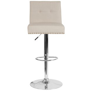 Blanco Adjustable Height Bar Stool by Mercer41