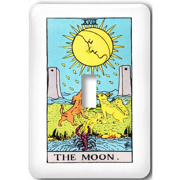 3drose Tarot The Moon Card 1 Gang Toggle Light Switch Wall Plate Wayfair