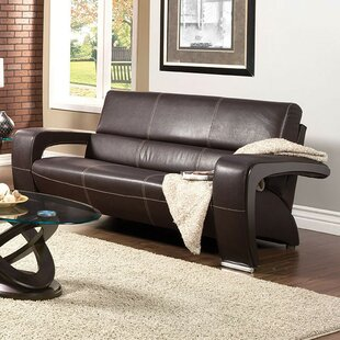 Best Reviews Brutus Leather Sofa by Orren Ellis Reviews (2019) & Buyer's Guide