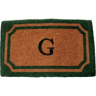 Personalized 24 Doormat by Geo Crafts, Inc