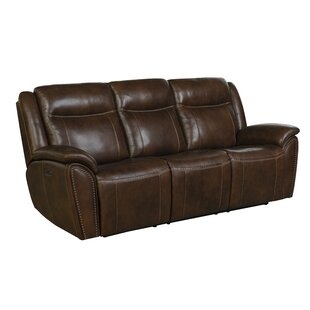 Alejandro Leather Reclining Sofa