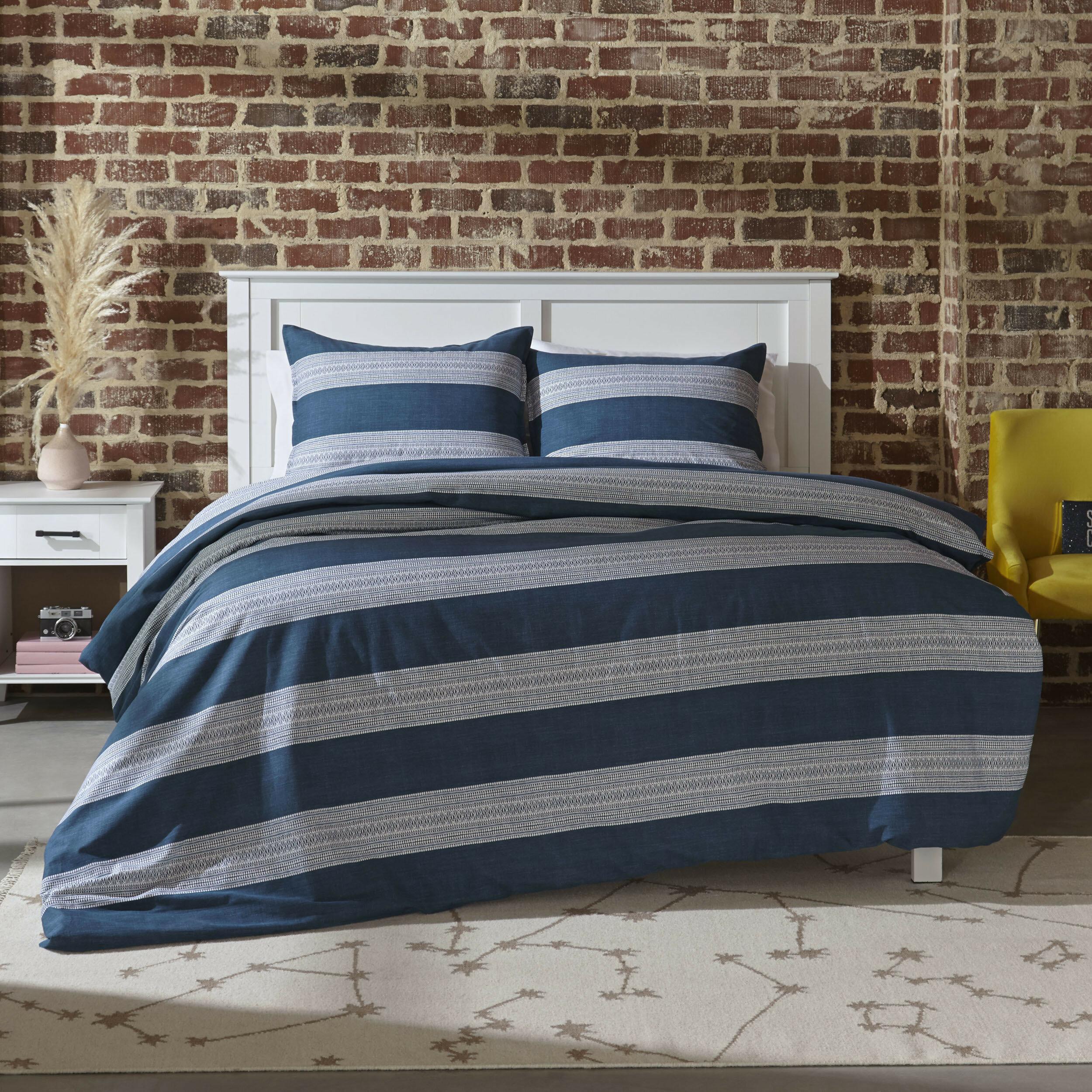 Novogratz Pippa Reversible Comforter Set Reviews Wayfair