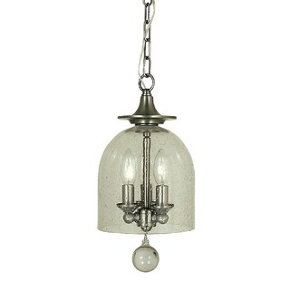 Alcott Hill Goff 3-Light Bowl Pendant