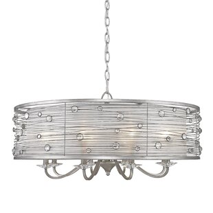 Hermione 8-Light Drum Chandelier by Willa Arlo Interiors