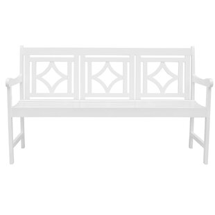 Mahler Patio Diamond Wooden Garden Bench