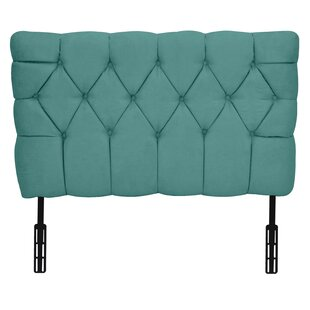 Meridia Tufted Twin Upholstered Headboard by Kidz World