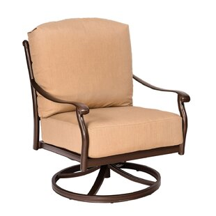 Woodard Casa Swivel Rocking Patio Chair w..