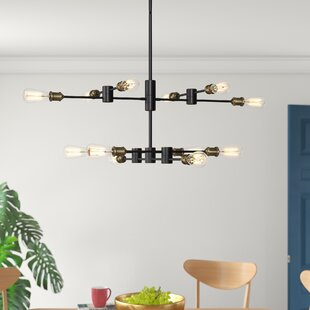 Wolfgram 12-Light Sputnik Chandelier by Mercury Row