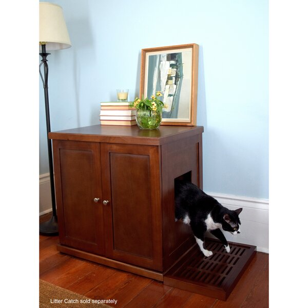 Archie & Oscar Clementine Wooden Litter Box Cabinet & Reviews by Archie & Oscar