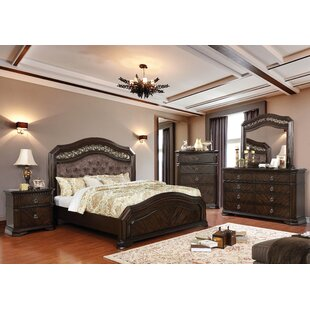 Astoria Grand Rudisill Upholstered Panel Configurable Bedroom Set