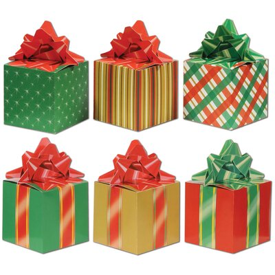 christmas favor box set set of 3
