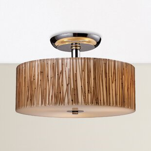 Bay Isle Home Panama City 3-Light Semi Flush Mount