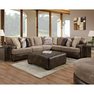 Red Barrel Studio Mccarley Sectional with Ottoman