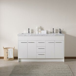 Jacob 60 Double Bathroom Vanity Set By Orren Ellis