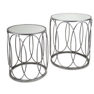 Scull 2 Piece Nesting Tables by Ivy Bronx