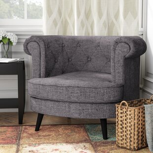 Check Prices Donlon Barrel Chair by Charlton Home Reviews (2019) & Buyer's Guide