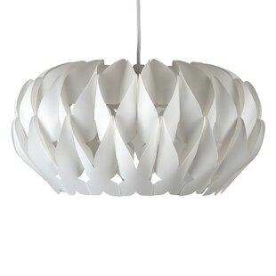 Ceiling lamp shades wayfair 42cm arena plastic oval pendant shade aloadofball Gallery