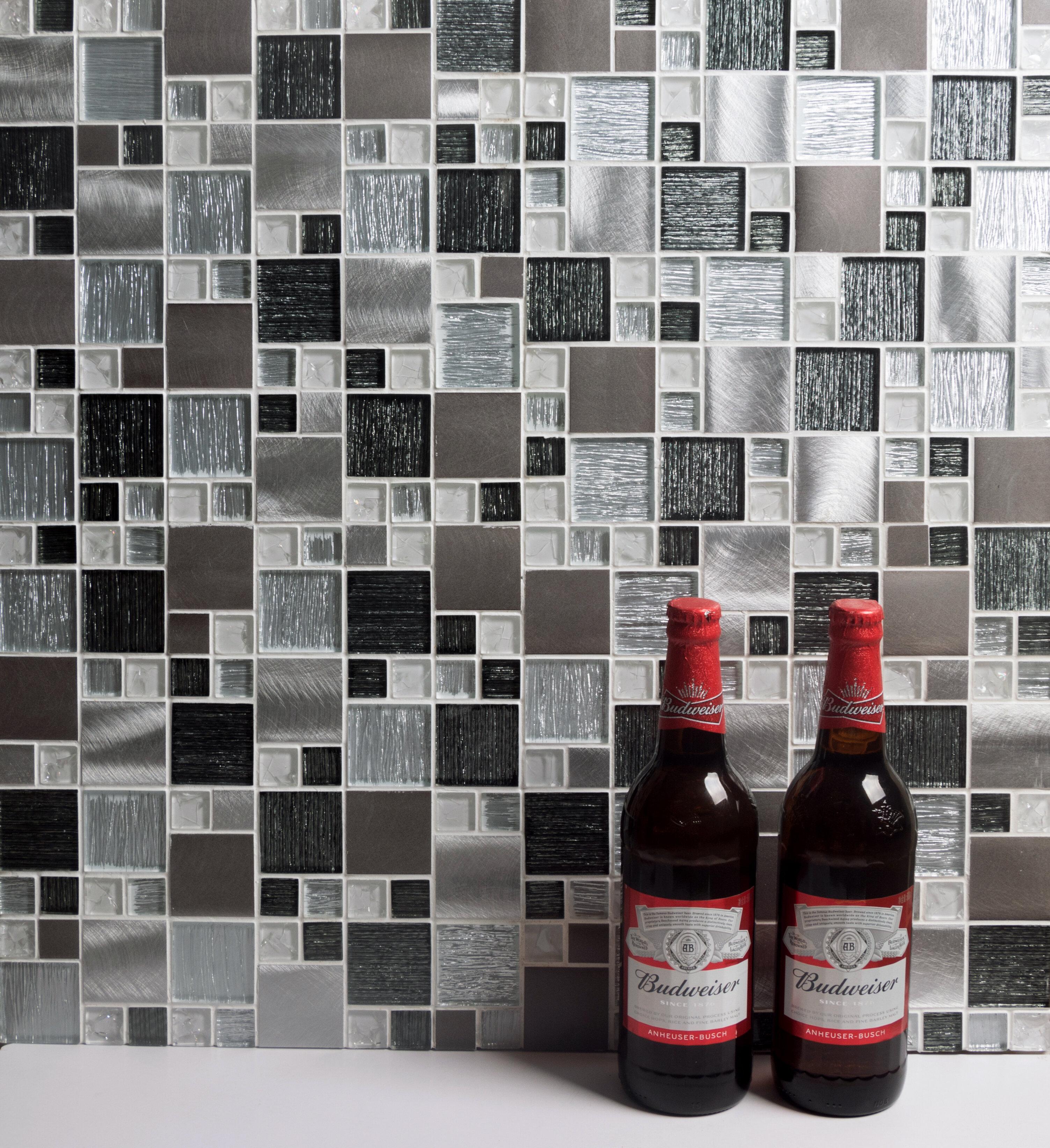 Gl Metal Mosaic Tile