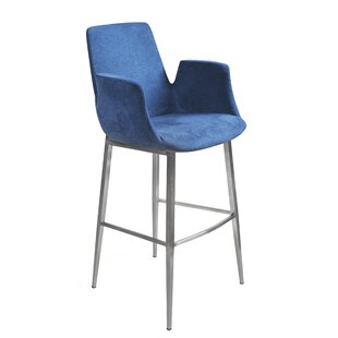 Pranav 44.89 Bar Stool Orren Ellis