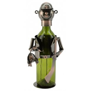 Hunter 1 Bottle Tabletop Wine Rack by Win..