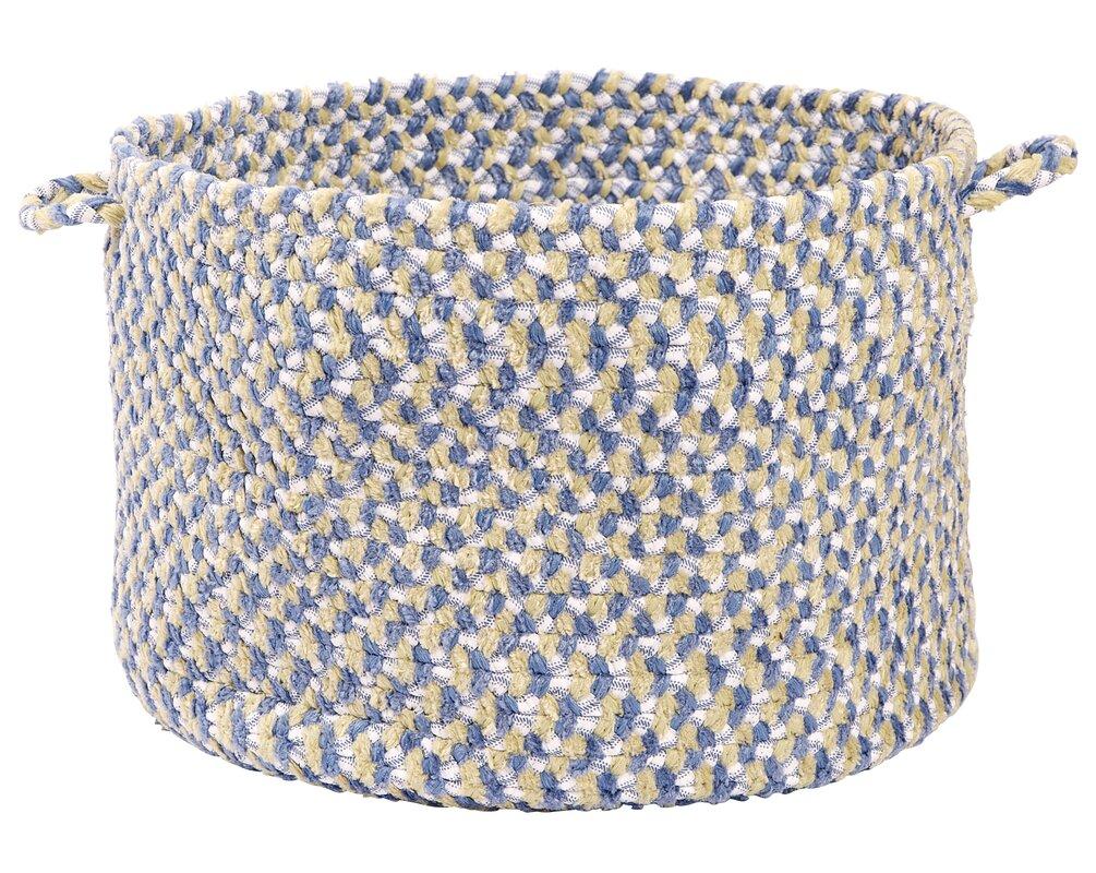 Tanya Blue Utility Basket #basket #toystorage