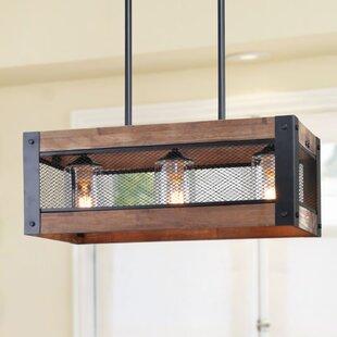 LNC Home 3-Light LED Kitchen Island Pendant