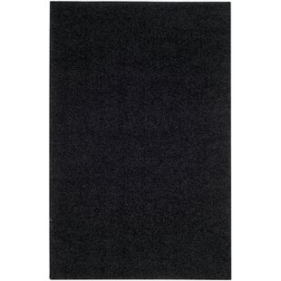 Read Reviews Cheney Black Area Rug ByWilla Arlo Interiors