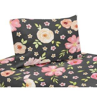 Watercolor Floral Sheet Set