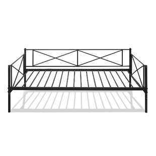 Swank Metal Daybed with Trundle by Winston Porter