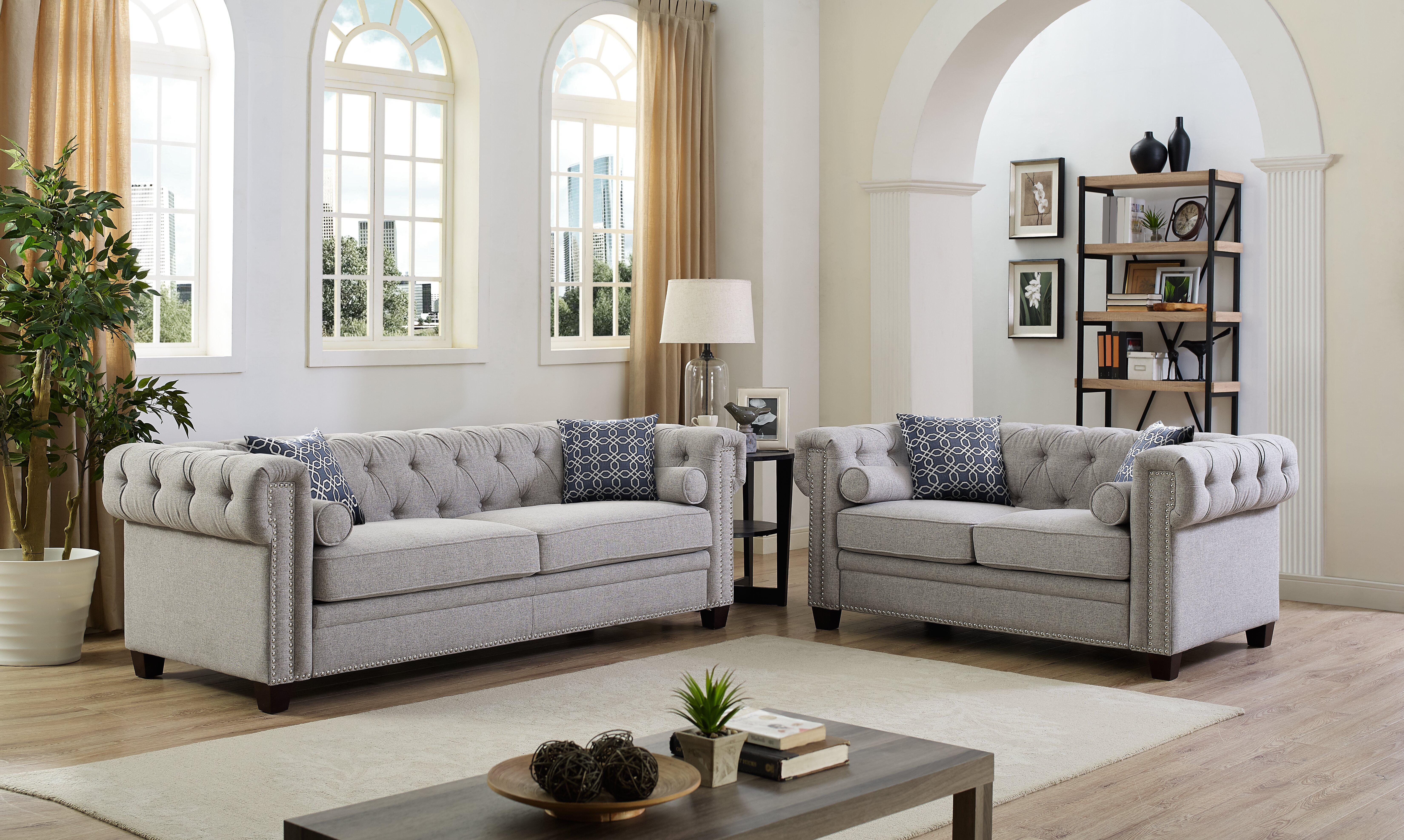 Brockton 2 Piece Living Room Set
