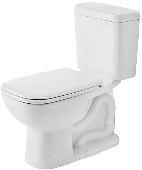 Duravit D Code 1 28 Gpf Water Efficient Elongated Two Piece Toilet Seat Not Included Perigold