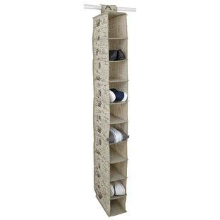 Best Reviews Paris 10 Compartment Hanging Organizer ByHome Basics