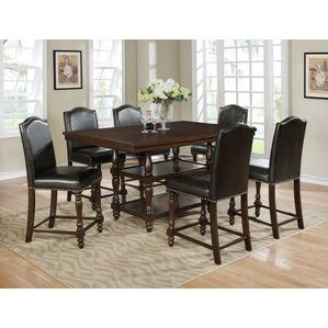 Langley 7 Piece Dining Set by Crown Mark