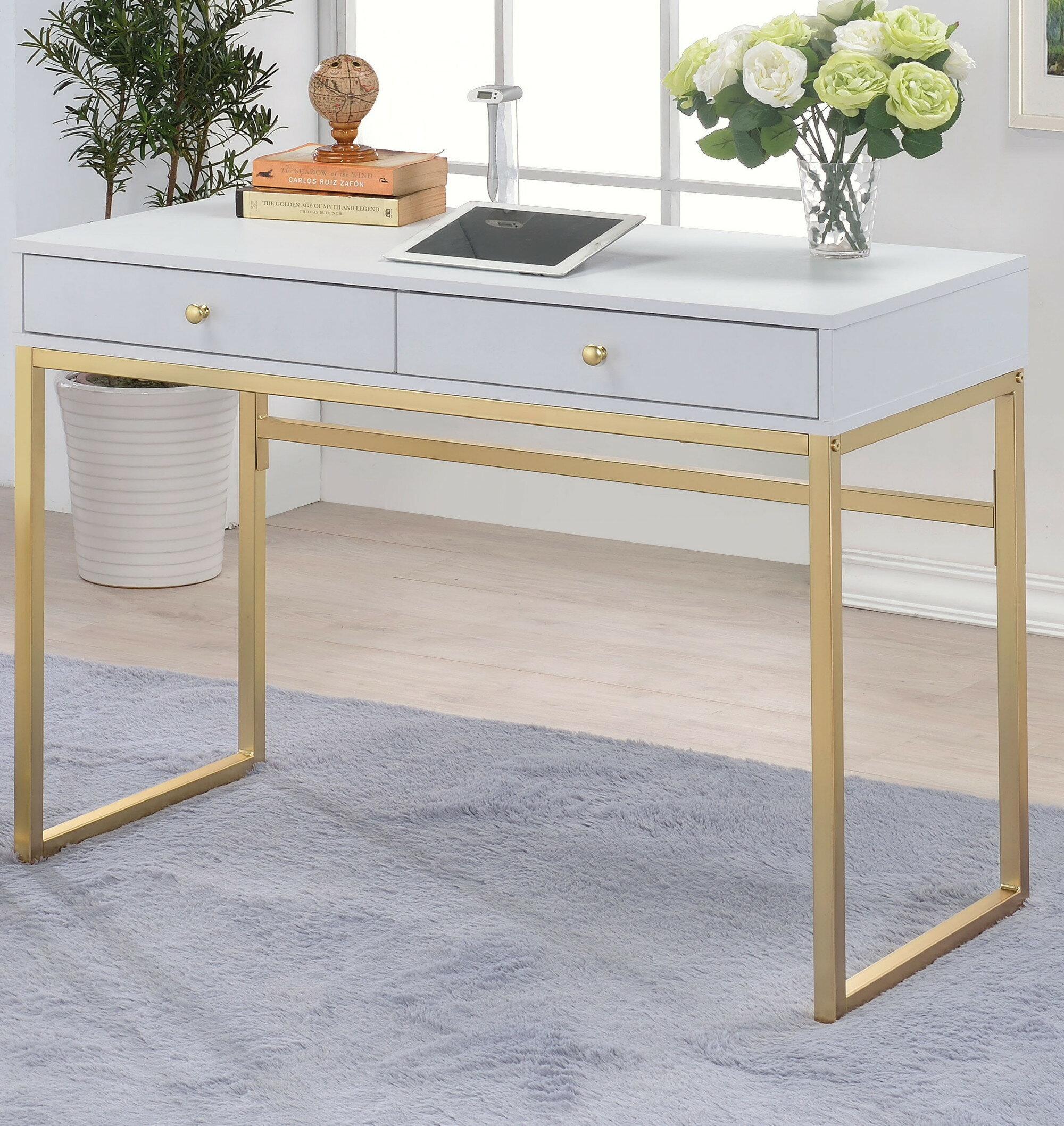 Mercer41 Lavine Desk Wayfair