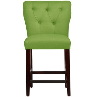 Pleasant Evelina 26 Bar Stool By Wayfair Custom Upholstery Low Price Andrewgaddart Wooden Chair Designs For Living Room Andrewgaddartcom